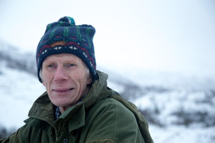 Olav Saue har overlevd to netter i snøhule. (Foto: Mari Valen Høihjelle)